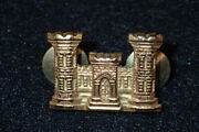 Ww2 Us Army Officers Corps Of Engineers Bos Branch Collar Insignia Ns Meyer Orig