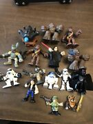 Lot Of Playskool Star Wars Galactic Heroes Jedi Force And More Figures