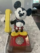 Original 1970s Vintage Mickey Mouse Rotary Telephone Disney Phone New In Box