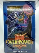 1995 Marvel Overpower Booster Box Fleer Factory Sealed Ultra Rare Mint Sealed