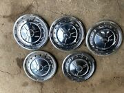 57 Chevy Hubcaps Set Of 5
