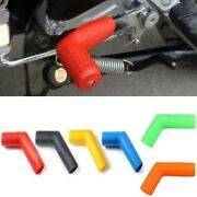 1pcs Motorcycle Rubber Shift Lever Socks Boots Shoe Yellow Protector Shifter