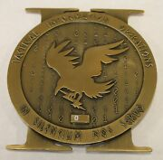 Special Warfare Seal Tactical Information Operations Ser Navy Ct Challenge Coin