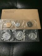 1961 Proof Set With Coa Flat Pack Original Envelope Us Mint Silver Coins