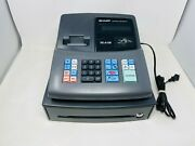 See Notes/as Is Sharp Xe-a106 Cash Register