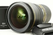 N Mint In Box Nikon Af-s Nikkor 24-70mm F2.8 E Ed Vr Lens By Dhl 277
