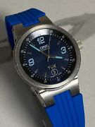 Oris Williams F1 Day Date Men's Automatic Watch Blue Dial Rubber Strap Steel 40