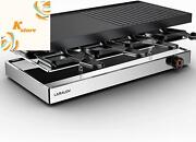 Raclette Table Grill, Laralov Smokeless Grill Indoor, Korean Bbq Grill 1500w Fas