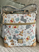 Disney Dooney And Bourke Winnie The Pooh Crossbody Letter Carrier Purse Bag New