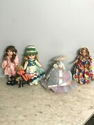 Lot Of Antique Vintage Dolls Composition Celluloid China Head Half Doll