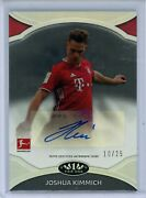 2020-21 Topps Tier One Prime Performers Auto Joshua Kimmich 10/25 Bayern Munich