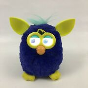 Hasbro 2012 Furby Starry Night Blue And Yellow Working Iob Requires Furby App