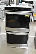 Whirlpool Wod77ec7hs 27 Stainless Steel Electric Double Wall Oven Nob 111399