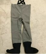 Simms Sterling Chest Waders Lightweight Stockingfoots Size Small