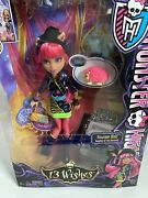 Monster High 13 Wishes - Howleen Wolf Daughter Of The Werewolf 2012 New In Box.