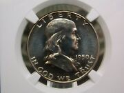 1950 Franklin Silver Half Dollar 50c Ngc Pf64 East Coast Coin And Collectables Inc