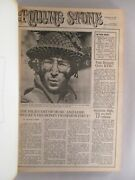 Rolling Stone 1 Thru 15 Bound Volume 11-9-1967 To 8-10, 1968 First 15 Issues