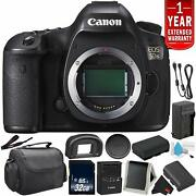 Canon Eos 5ds Digital Slr Camera 0581c002 Body Only- Bundle +32gb Memory Card