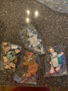 Wizard Of Oz Ornaments Wooden Kurt Adler Legs And Arms Dangle Unique Find
