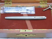 Parker75 1976 Independence Day Limited Bicentennial Fountain Pen 14k Xf Converte