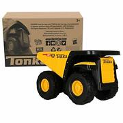 Tonka - Steel Classics Toughest Mighty Dump Truck, Frustration-free Packaging F