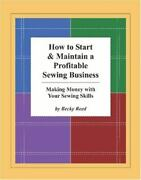 How To Start And Maintain A Profitable Sewing Business Making Money With...