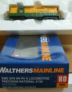 Walthers 910-20459 Ho Precision National Emd Gp9 136 Dcc And Sound - 10 Off