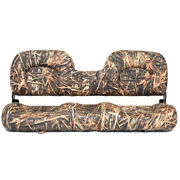 Lowe Boat Folding Bench Seat 2083114   Camouflage 21 1/2 X 51 7/8 Inch