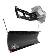 Kfi Pro Poly 66 Snow Plow With Push Tubes And Mount For 2016 Hisun Hs750 Crew