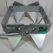 Slide Anchor - Box Anchor For Offshore Boat Anchoring Galvanized Large Size