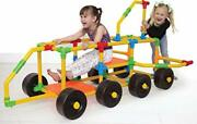 Deluxe Building Set - The Ultimate Kids Stem Toy Set - Create Anything -