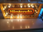 Nintendo Arcade Lighted Sign Display Authentic
