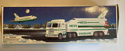 Vtg Hess 1999 Toy Truck And Space Shuttle With Satellite - In Original Box New