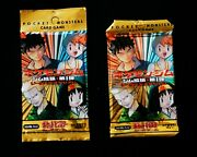 Rare Pokandeacutemon Japanese Gym Heroes Two Factory Sealed 291 Booster Packs