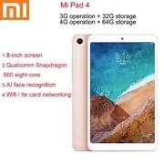 Xiaomi Tablet 4 Kids Tablets Android 10/graphics Tablette Snapdragon 660aie 4g