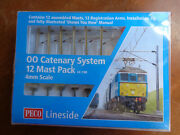 Peco Lc-100 Catenary System Startup 12 Mast Pack