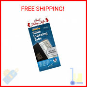 Large Print Bible Indexing Tabs - Silver Bible Indexing Tabs - Free Shipping