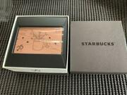 Starbucks 25th Anniversary Of Landing In Japan Limited Edition Card Metal 2021