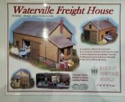 Waterville Freight House - Ho Railway Heritage Models 40005