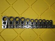 Bluepoint By Snapon 11 Pc 3/8 Drive Metric Ratcheting Crowfoot Wrench Set 8-19
