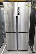 Haier Hrq16n3bgs 33 Stainless Steel French Door Refrigerator Nob 111497