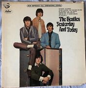 Second State Butcher The Beatles Yesterday And Today Stereo St 2553 Vg-