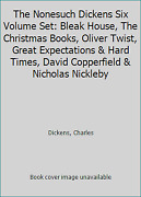 The Nonesuch Dickens Six Volume Set Bleak House The Christmas Books Oliver...
