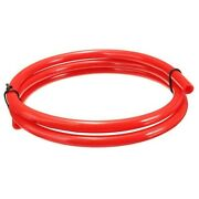Oil Pipe Accessory Red Gasoline Delivery Hose Id 5mm Od 8mm Replacement Useful