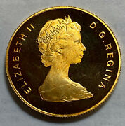 1979 100 Dollars Unicef Year Of The Child Canada Gold Proof Cameo