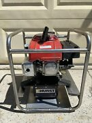 Hurst Jaws Of Life Rescue 5000psi Hydraulic Pump Gas Engine Working