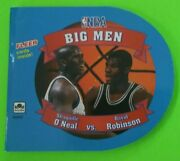Rare Vintage Fleer Nba Big Men With Shaquille Oand039neal Rookie