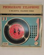 Phonograph Xylophone A Flare Vintage Toy