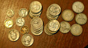 4.3 Troy Ounce Of Silver, Us Coins And Canada Coins