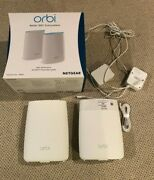Netgear Orbi Ac3000 Tri-band Wireless Router, Pack Of 2 Rbk50-100nas
